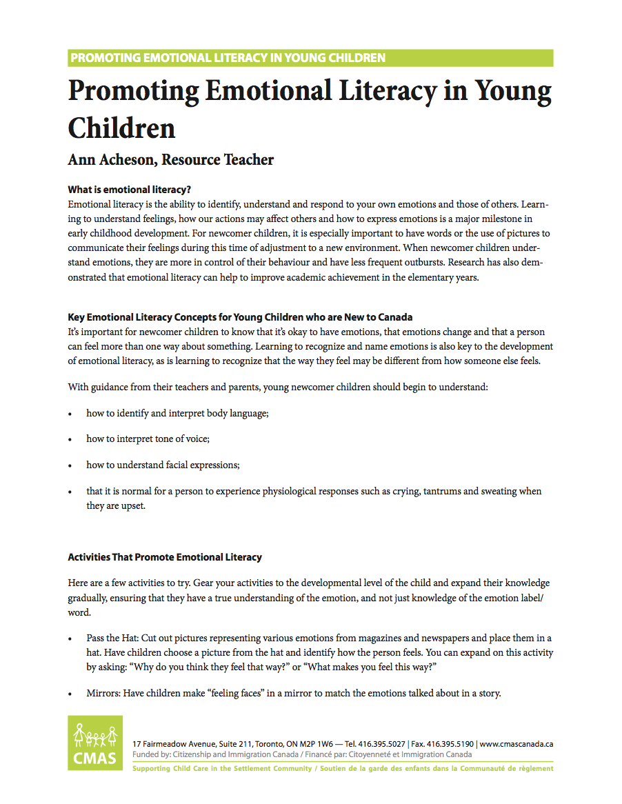 promoting child and young person development
